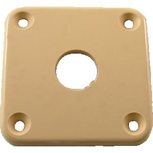 Jack plate, Gibson® cream plastic