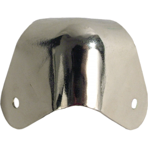 Corner - Fender, Nickel, 2-Hole, 4 Corners w/ Screws