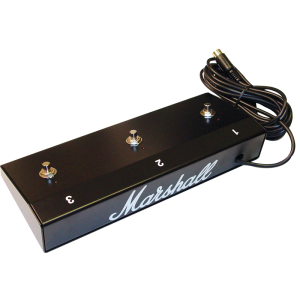 Footswitch (MPM3E), Original Marshall, Three Button with LED (1, 2, 3)
