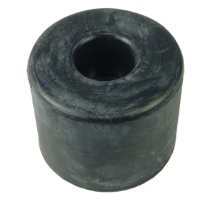"""Foot - Rubber, 1.5"""" x 1.18"""", with Metal Washer"""