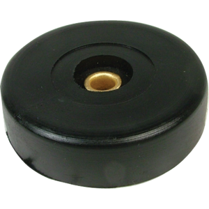 "Foot - Rubber, 1.5"" x .425"", Single"