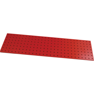 Turret Board - Blank, 3 mm, 189 Holes, 258mm x 67mm, Red