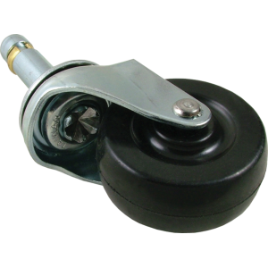 "Guitar Caster - Push-In, 2"" Wheel, if Socket required see P-HW01S"