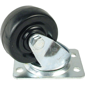 "Caster - Small Swivel, 2"", 4 Screw Mount"