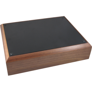 "Chassis Box - Hammond, Walnut/Black, 13"" x 10"" x 3"""