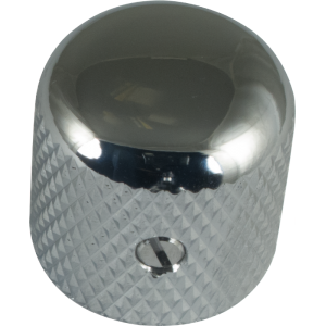 Gotoh Dome Guitar Knob Chrome