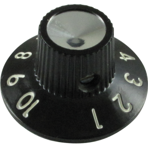 Knob, skirted for Blackface/Silverface amps, generic (single)