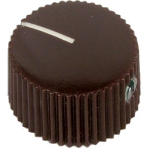 Knob, generic vintage (individual), brown