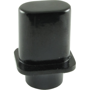 "Switch Tip - Fender®, Telecaster ""Top Hat"", Black"