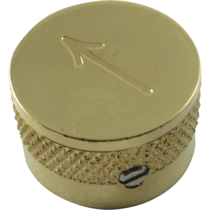 Knob, Gretsch arrow only (4 pieces), gold