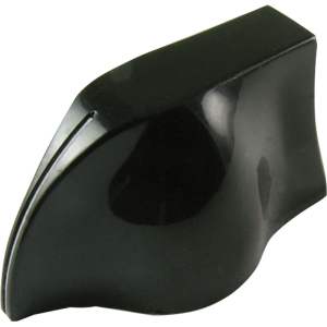 Knob - Peavey, Black Pointer white line