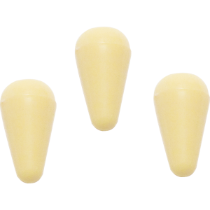 Knob, Stratocaster switch tip (3 pieces), cream