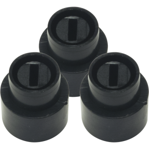 Switch Tip - Telecaster, Black, Set of 3