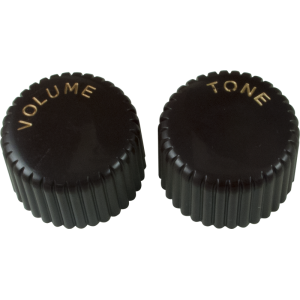 Knob - Vintage Brown Cupcake 1 Volume, 1 Tone