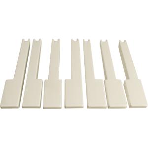 Keys - Korg for X5 and X5D White Octave 7PCS