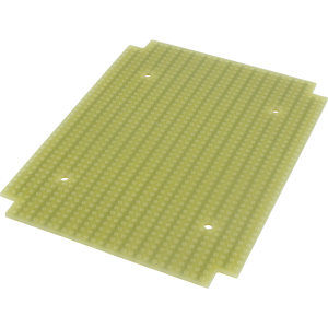 ProtoBoard- Fits 1590BB, 1 sided, 2-hole strips