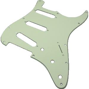 Pickguard, Fender® American Stratocaster 11-hole mint green