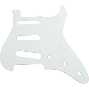 Pickguard - Original Fender, Vintage '57 Strat, 8-Hole, White