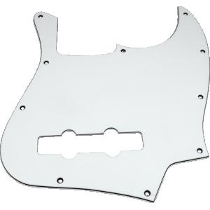 Pickguard, J-Bass 3-ply white