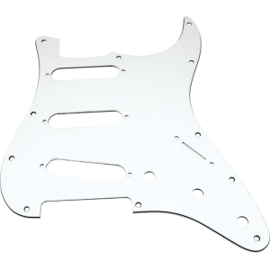 Pickguard, Stratocaster 3-ply white (W/B/W)