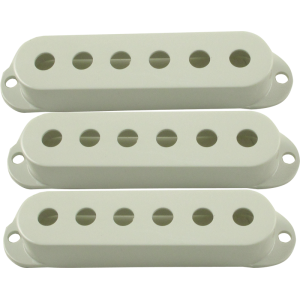 Pickup cover, Fender® Stratocaster (3 pieces), white