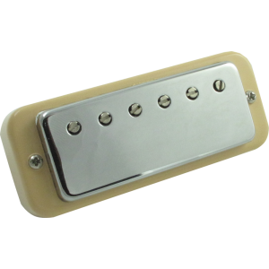 Pickup, Gibson Original Mini-Humbucker, Chrome Cover, Rhythm