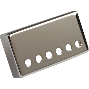 Pickup cover, Gibson® humbucker bridge, nickel