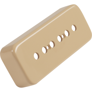 "Pickup cover, Gibson® P-90/P-100 ""Soap Bar"", cream"