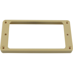 Pickup mounting ring, Gibson® bridge, cream