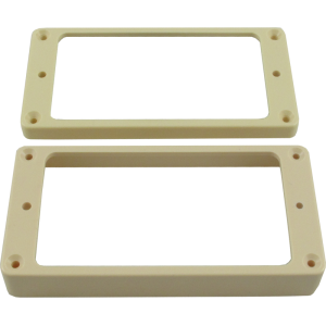 "Pickup Mounting Ring, Gibson® Cream, ¼"" Neck, ½"" Bridge"