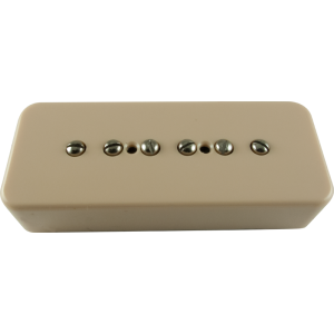 Pickup - Kent Armstrong, Stealth 90 - Noiseless P90 Neck, Cream, Plastic Cover