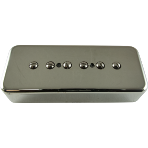Pickup - Kent Armstrong, Stealth 90 - Noiseless P90 Bridge, Nickel, Metal Cover