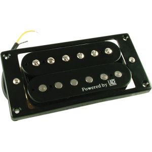 Pickup, powered by Lace, black humbucker neck