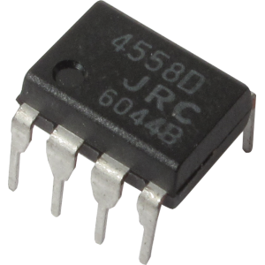Integrated Circuit - 4558, Dual Op-Amp