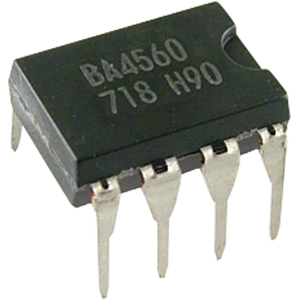 Op-Amp - Dual General Purpose - BA4560, 8 LEG DIP