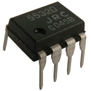 Integrated Circuit - NE5532, Low-Noise Dual Op-Amp