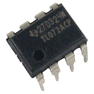 Integrated Circuit - TL072, Dual Op-Amp
