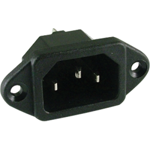 Power cord receptacle
