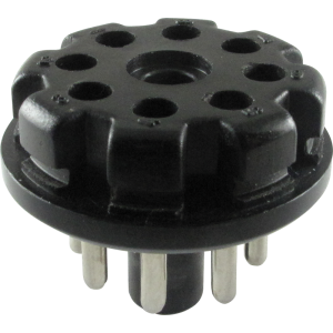 Plug - 8-Pin, Black Plastic