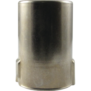"Tube Shield - 9 Pin Mini, Bayonet, J Slot, 1-1/2"" Tall, Aluminum"
