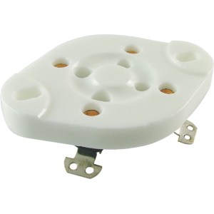 Socket - 4 Pin, Ceramic Plate
