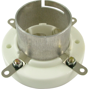 Socket - 4 Pin, Jumbo, Ceramic Bayonet