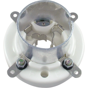 Socket - 4 Pin, Ceramic, Bayonet, China