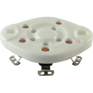 Socket - 5 Pin, Ceramic Plate