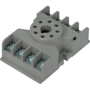 Socket - 8 Pin Octal, Relay