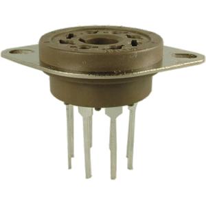 Socket - Belton Micalex, 8 Pin Octal PC Mount Long Lead