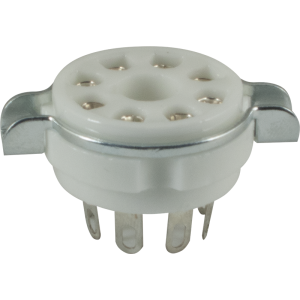 Socket - 8 Pin Octal, Ceramic