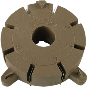 Socket - Belton, 8 Pin, for Auto Wave Soldering