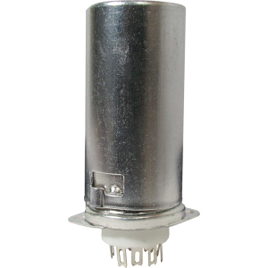 Socket - 9 Pin, Ceramic Base with Aluminum Shield