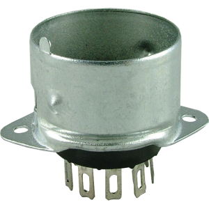 Socket - 9 Pin, Miniature, with Shielded Base